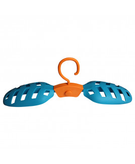 HANGy orange-blue coat hanger